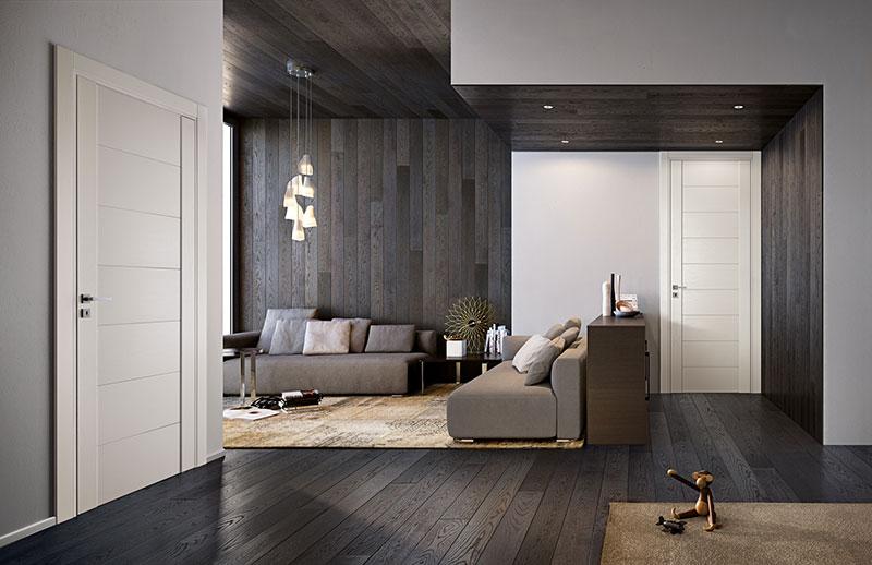 Porte In Legno Moderne : Porte moderne e di design bergamo c serramenti