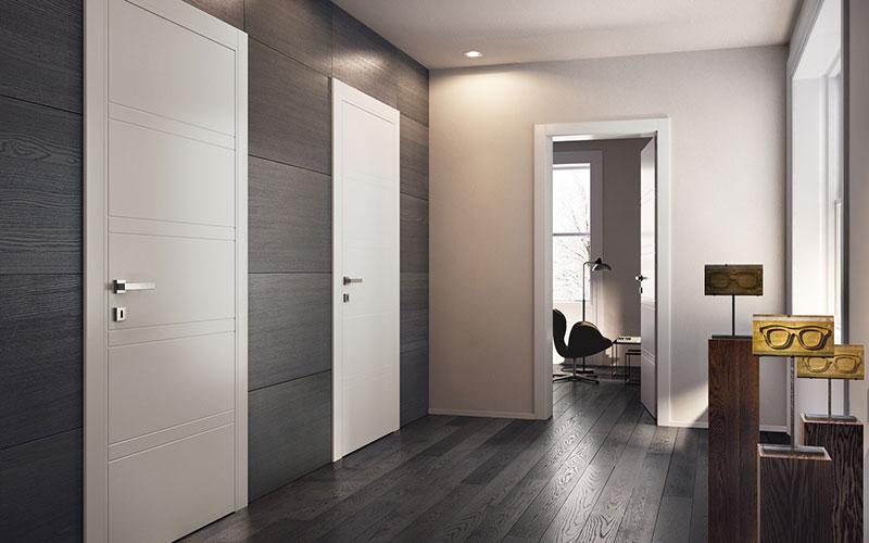 Porte moderne e di design bergamo 3c serramenti - Porte moderne ...