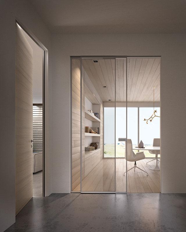 Porte a vetro e pareti vetrate - Bergamo | 3c Serramenti
