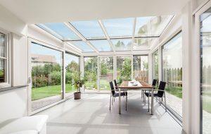 Verande vetro e legno e serre bioclimatiche