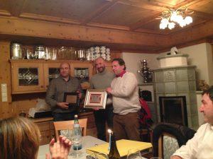 premiazione fratelli Cavagnis 2014